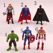 6 PCS FIGURINE  ACTION FIGURE