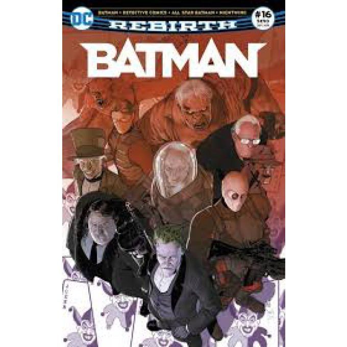 BATMAN REBIRTH N° 16